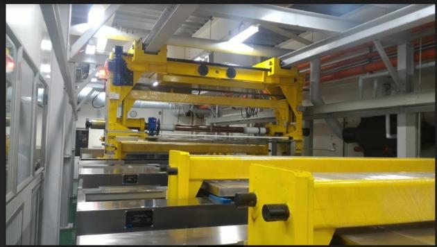 凹版印刷自動電鍍線 1